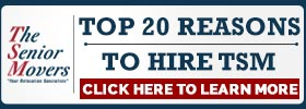 Top 20 Reasons To Hire The Senior Movers