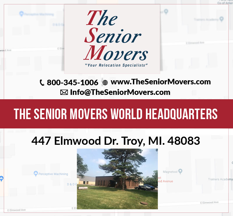 The Senior Movers in Dr.Troy, MI